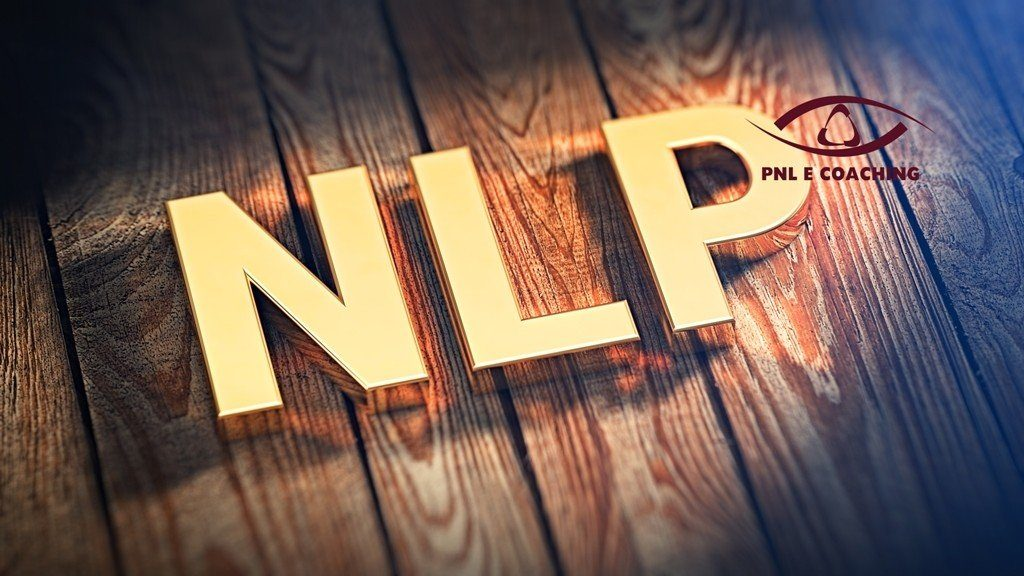 Acronym NLP on wood planks