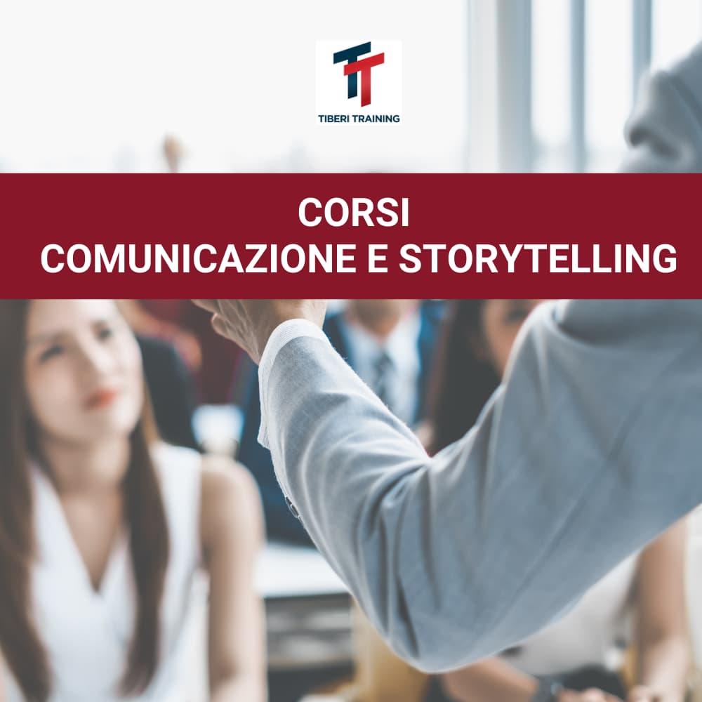 CORSI PUBLIC SPEAKING COMUNICAZIONE E STORYTELLING