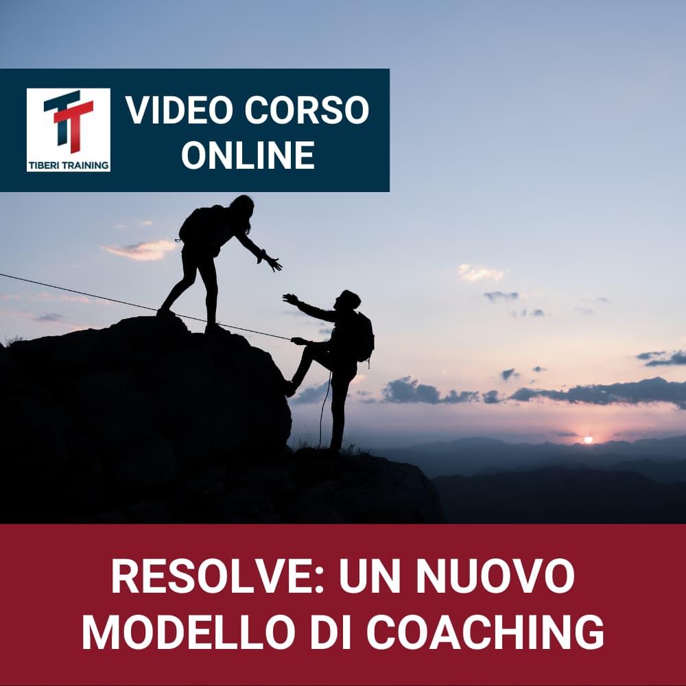 Corso Resolve Un Video Nuovo Modello Di Coaching copertine